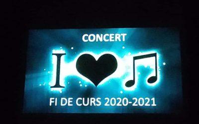 Festival fi de curs 2021 Aula de Música